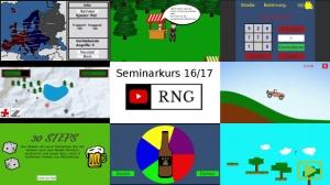 Seminarkurs 2016/17 – Entwicklung von Videospielen