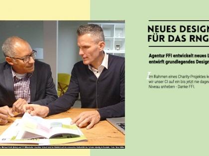 Agentur FFI entwickelte neues Logo und Desingkonzept