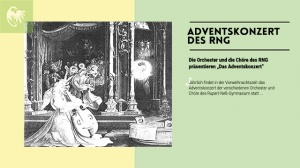Adventskonzert der Orchester und Chöre des RNG