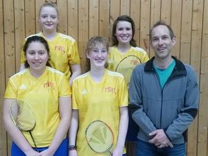 JtfO-Badminton: Souveräner Einzug ins Landesfinale