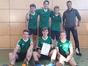 Jungs-Team bei JtfO Volleyball