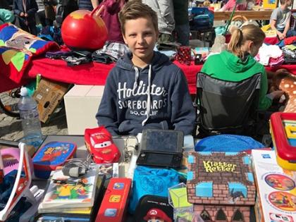 RNG meets JAR Realschule Flohmarkt–ein voller Erfolg