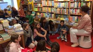 Besuch in der Buchhandlung