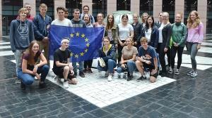 Neigungsfach im Europaparlament in Straßburg