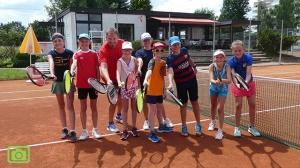 Tennis-AG endet mit Abschlussturnier