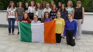 Dubliner Schülerinnen zu Gast am RNG