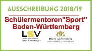 Schülermentor Sport 18/19 – jetzt bewerben