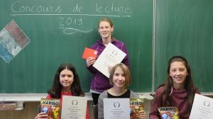 Dunja Müller fährt zum Regionalen Vorlesewettbewerb