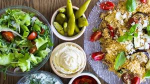Salatbar für die Oberstufe