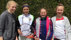 Spiel, Satz und Sieg – JtfO Tennis Mädchen