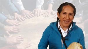 Ein Ältester der Olmec-Tolteken in Wangen