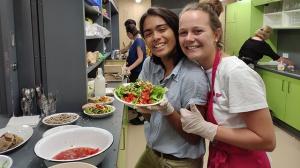 Salatbar des SAK – ein erfolgreiches Projekt