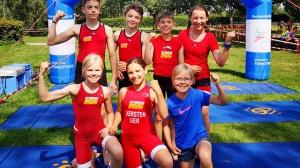 JtfO Triathlon Landesfinale – Staffelteam auf Platz 6