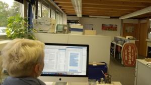 Der Arbeitsalltag in der Druckerei