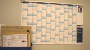 Zeitablauf in der Druckerei