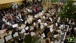 Adventskonzert der Orchester unserer Schule