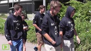AbituriEnten watschelten schon 2018 davon …