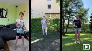 Jonglieren – ein Sportprojekt der Klasse 5a