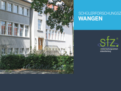 Schülerforschungszentrum Wangen jetzt am RNG